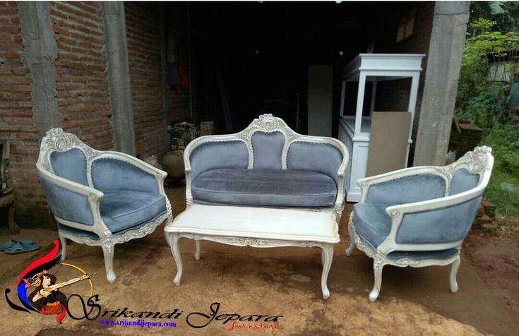 Set Kursi Sofa Tamu Prancis