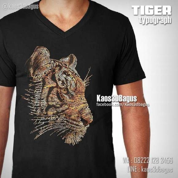 Kaos HARIMAU, Kaos Tiger,  Kaos Kepala Macan, Kaos 3D Gambar Harimau, Kaos Kepala Harimau, Kaos 3D, Umakuka, Kaos 3D Bagus, http://instagram.com/kaos3dbagus, WA : 08222 128 3456, LINE : kaos3dbagus