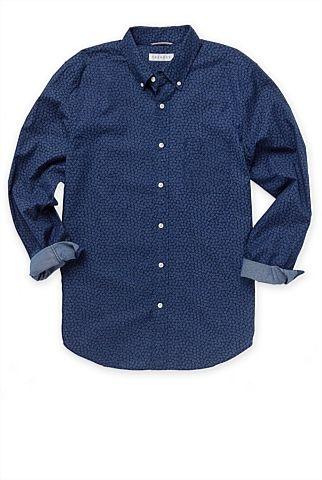 Trenery overprinted floral shirt - longsleeve  http://www.trenery.com.au/shop/menswear/clothing/shirts--casual/floral-overprinted-shirt-60186799  $139NZD