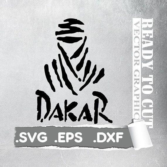 Dakar svg - Cut Ready Vector File - Svg, Eps, Dxf