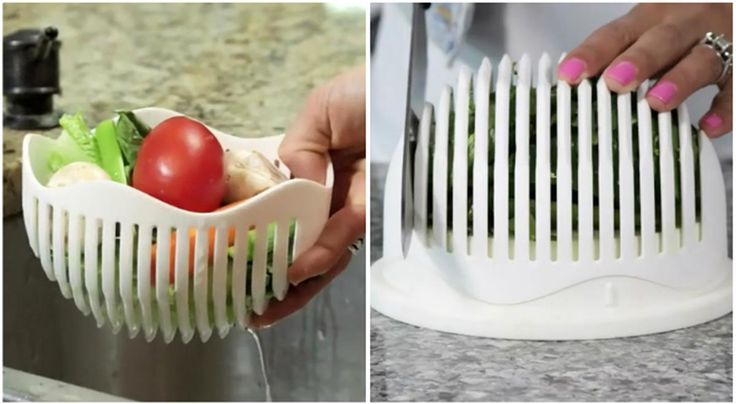 An ingenious new device will chop the time it takes to make a salad. Take a look: https://www.finedininglovers.com/blog/curious-bites/60-second-salad-maker/