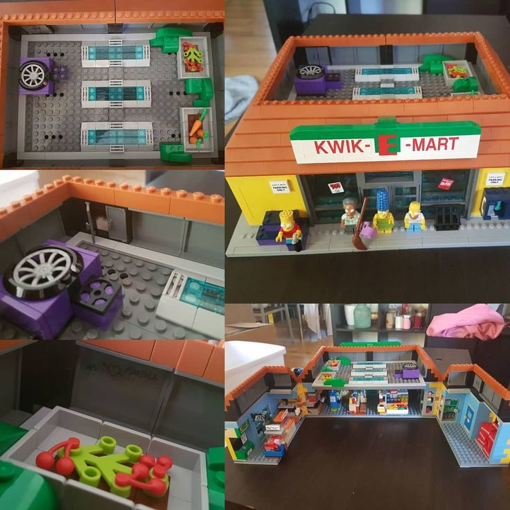 Stage 8 of Kwik-E-Mart complete... and the Kwik-E-Mart is finished. Absolutely loved this kit. Such attention to detail loved the little touches from the graffiti to the little market garden on the roof. Those Lego people really know their stuff. Really enjoyed getting back into lego as it was a big childhood toy for me. Until they make the next simpsons kit... what will tide me over? Star Wars perhaps??? #lego #legosimpsons  #kwikemart #rooftopgarden  #finallyfinished #legostarwars #ido