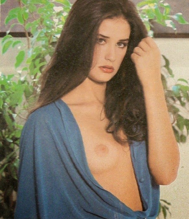 Hairy Demi Moore