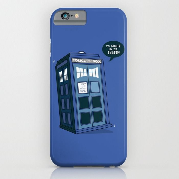 Bigger on the Inside iPhone & iPod Case