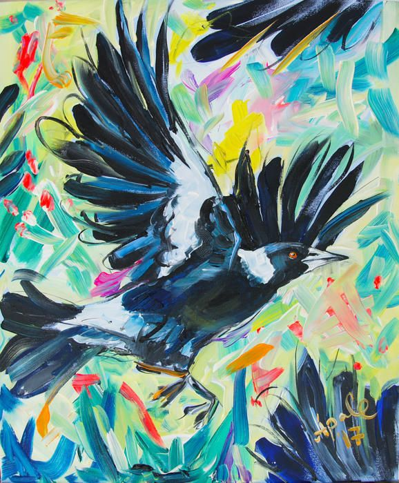 """Wings"" by Katerina Apale. Paintings for Sale. Bluethumb - Online Art Gallery"