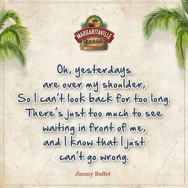 margaritaville cargo profile sayings | ... . Jimmy Buffett quotes via Margaritaville Cargo's Facebook Page