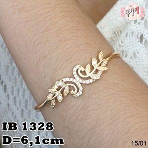 Perhiasan Gelang Gold Lapis Emas 18k Elegan B 1328 Fast Respon Pin BB : 5F81C0E7 No Hp : 081223335084