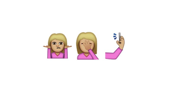 Facepalm, selfie and shrug emoji are on the way - There are 72 new additions total in Unicode 9.0.