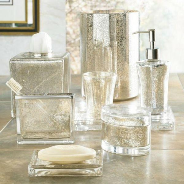 accessoires de salle de bain verre original un clat pour la salle de bains - Salle De Bain Accessoire