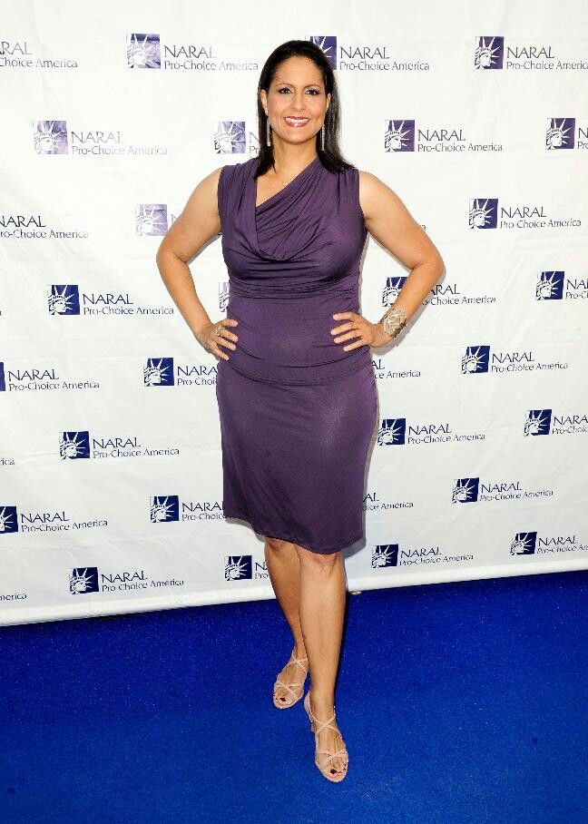 Karen Finney Rocking The Purple Fashion Dresses Peplum
