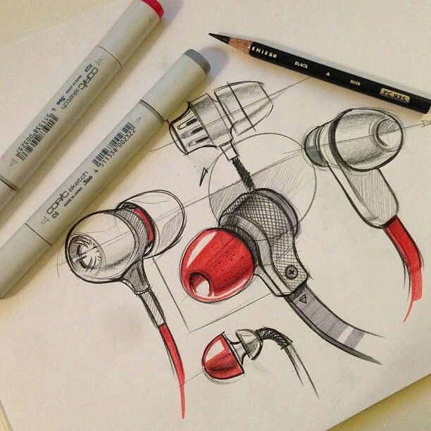 Incorporation of pops of colour to create this drawing --- makes the product…