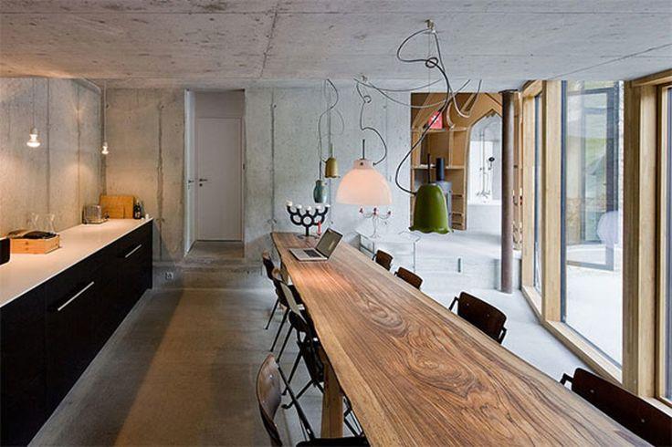 Underjordisk arkitektur   Earth House i Schweiz     Boligmagasinet.dk