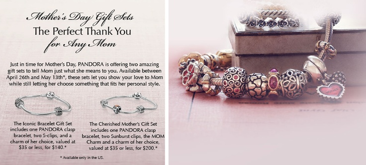 Pandora Mother's Day Bracelet Sets!  IN-STOCK at BECKER JEWELERS!   Mother's Day is May 13th!