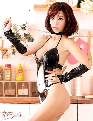 【Fee Sexy】エナメルのセクシーテディ・コスプレ/コスチューム♪f492★【テイストセクシー】【テイストキュート】【テイストクール】【after20130308】