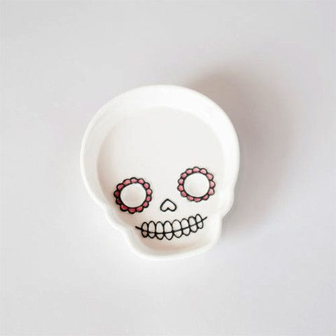 Skull Candy Dish – Body Mind & Soul