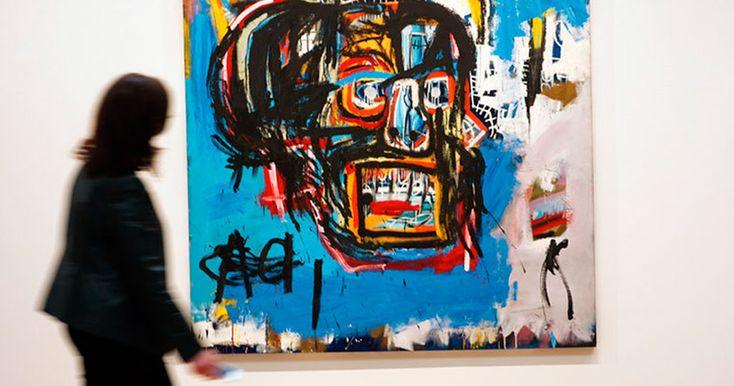 Картина Баския без названия стала самой дорогой когда-либо проданнойработой американского художника