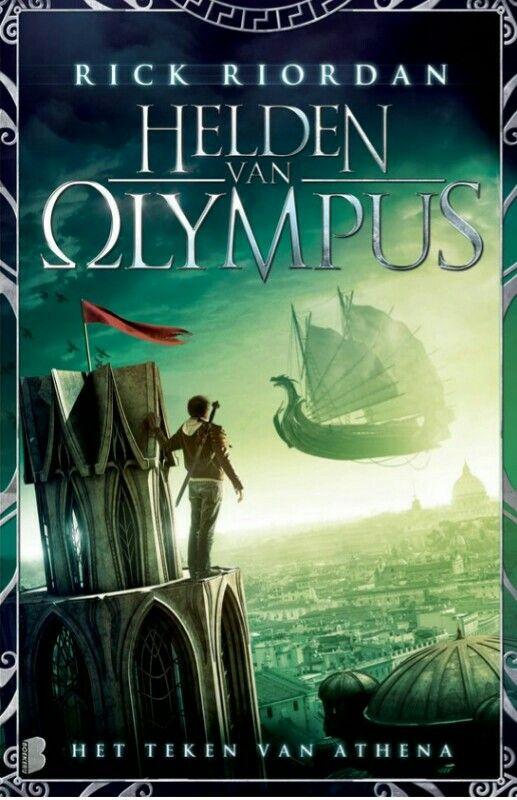 Helden van Olympus 3: het teken van Athena: Het teken van Athena is het derde deel over de helden van Olympus.Annabeth is doodsbang. Het ene moment wacht ze verlangend op de komst van Percy, het volgende moet ze vechten voor haar leven. Ze kan alleen maar hopen dat de Romeinen haar niet doden voordat ze zien wie ze is. Bovendien heeft ze het Teken van Athena bij zich, dat haar moeder haar gaf met de opdracht haar te wreken