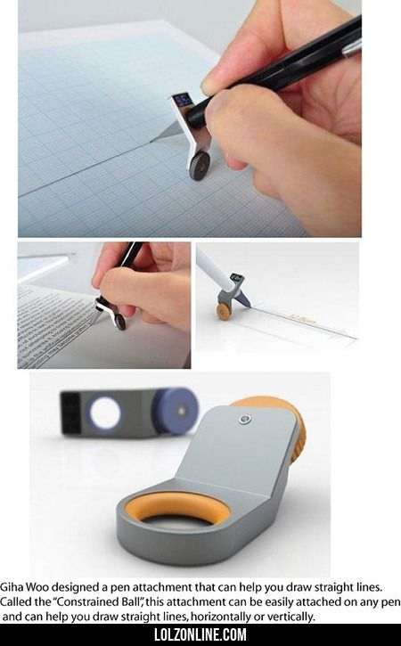 A Pen Attachment That Can Help You Draw Straight#funny #lol #lolzonline