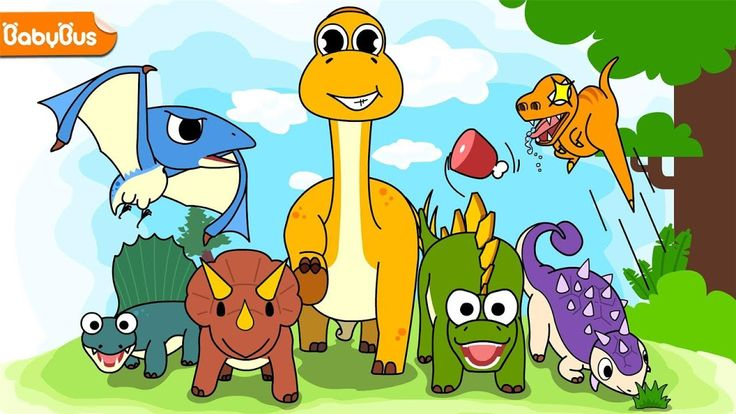 Kids Learn About Dinosaurs with Baby Panda -  Games