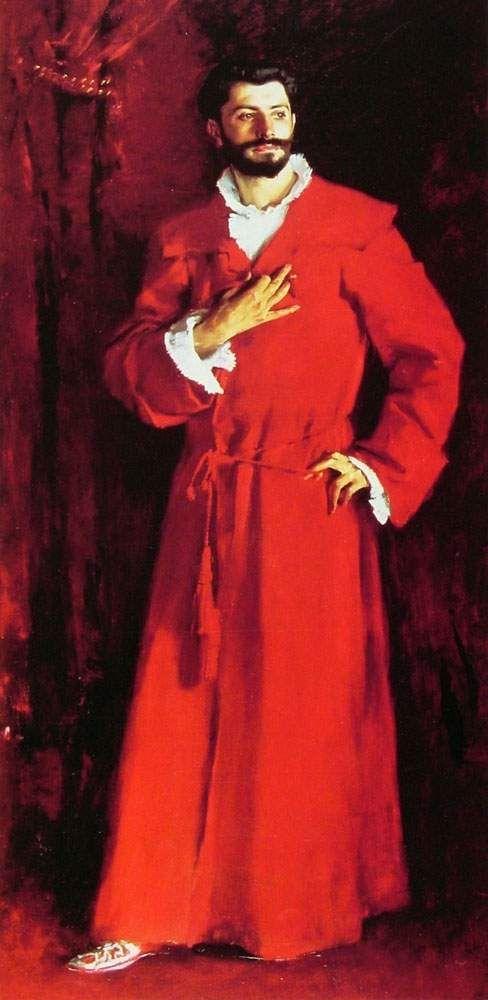 Dr. Samuel Jean Pozzi  (John Singer Sargent 1881 Armand Hammer Museum of Art, UCLA):  One of the models for Dr. Cottard.