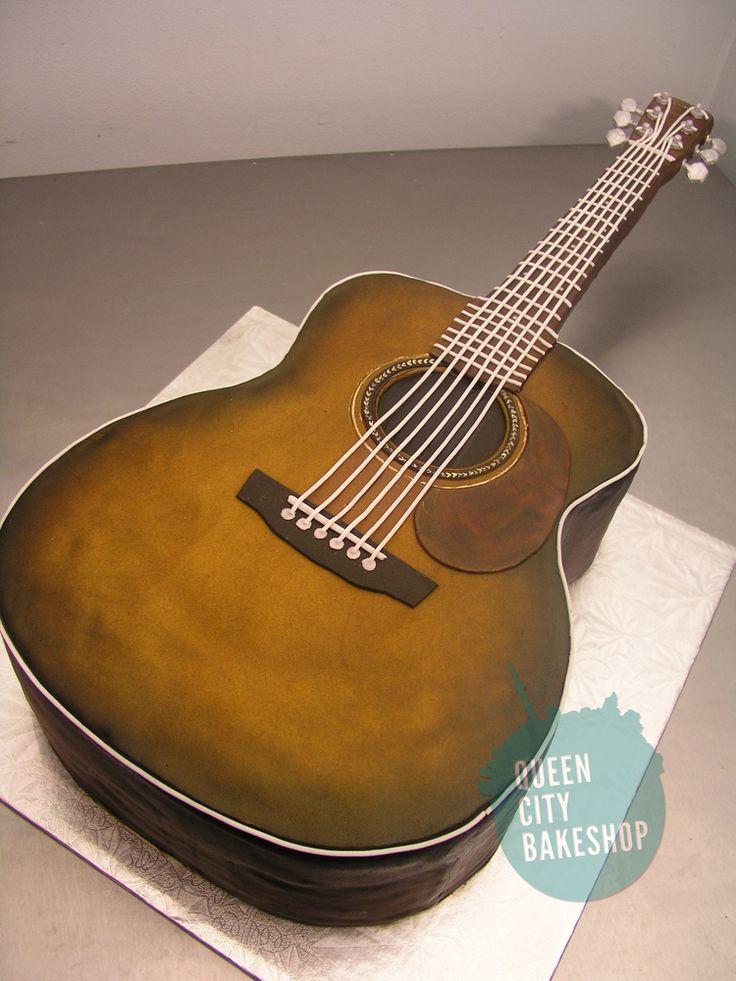 guitar templates for cakes - best 25 guitar birthday cakes ideas on pinterest guitar