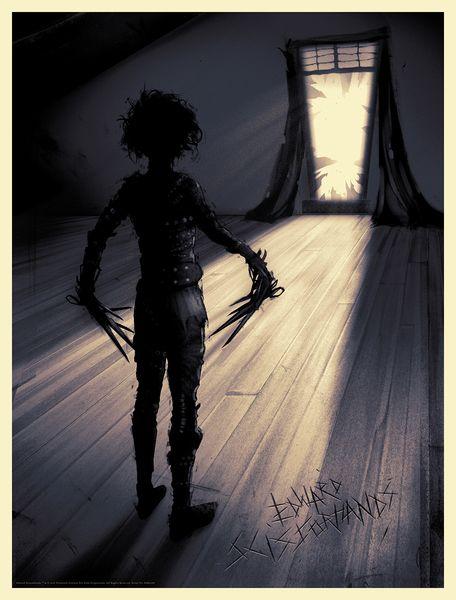 'Edward Scissorhands' (Regular Edition) by Sam Connelly