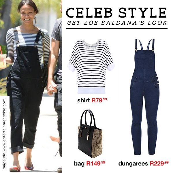 CELEB STYLE: Denim dungaree  Take a style note from the fash pack and buckle up with the season's most wearable denim trend.  Shop this look in-store and online now: http://www.mrp.com/jump/lookbooks/Oakridge-AW15/category/cat1530015?p=3&utm_source=Pinterest&utm_medium=post&utm_campaign=01_2015wk13_l_or_AW15_WinterEdit