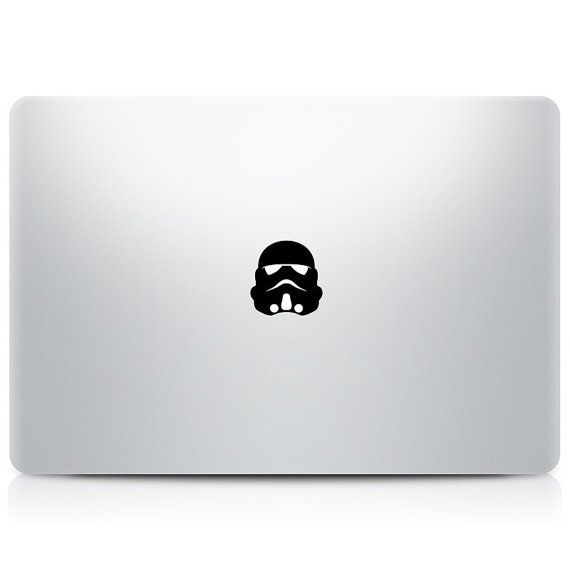 Star wars stormtrooper macbook decal starwars macbook by decalguru