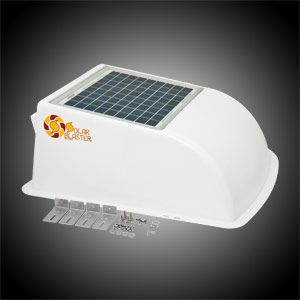 Solar Rvblaster Rv Vent Cover With Dual Fans Van Living