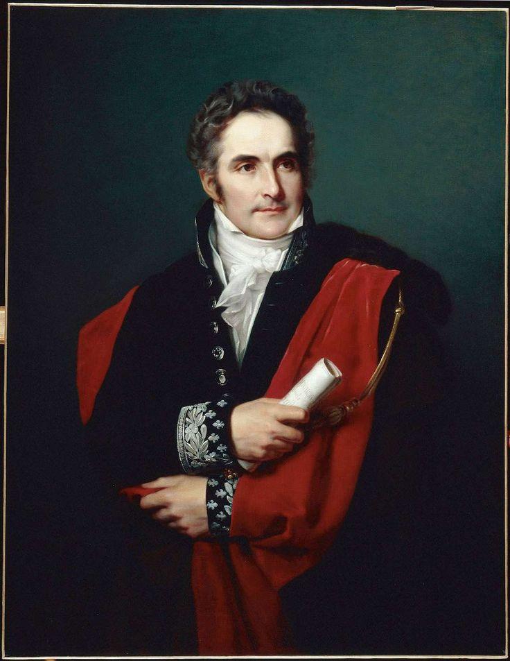 Portrait de Casimir Perier (1776-1832) by Louis Hersent -banquier et homme politique français, régent de la Banque de France, président du Conseil du 13 mars 1831 à sa mort, due à l'épidémie de choléra de 1832. Membre de l'opposition libérale à Charles X, il est, après la Révolution de 1830, l'incarnation du « parti de la Résistance » au début de la monarchie de Juillet.