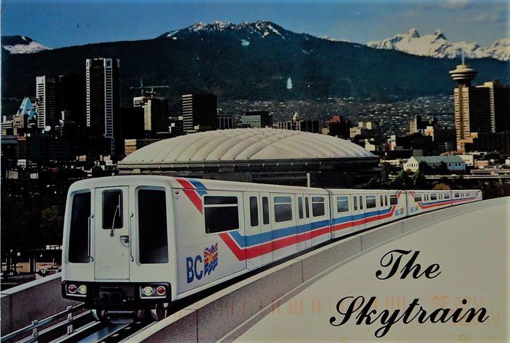skytrain, vancouver, canada,