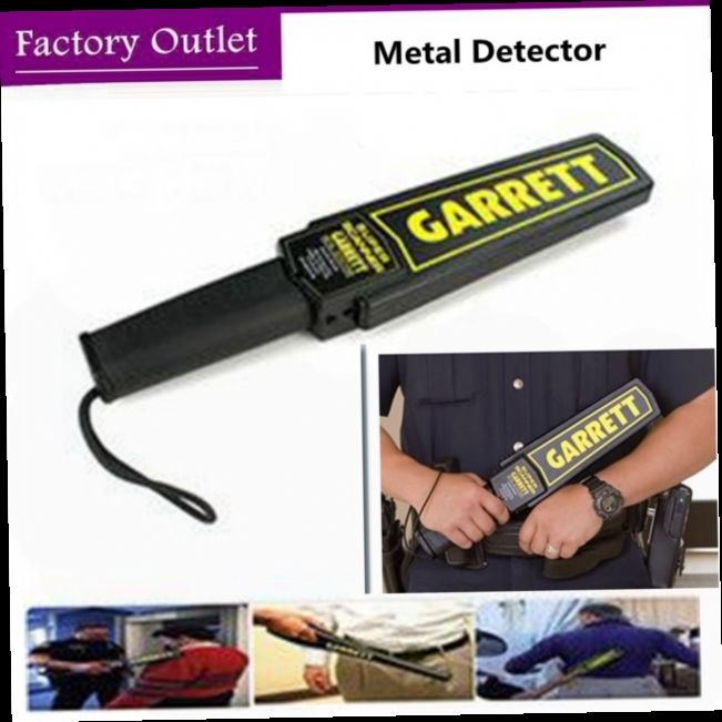 49.99$  Buy now - http://alilwa.worldwells.pw/go.php?t=32753745894 - GARRETT metal detector Professional Portable Metal underground Detector de metal altin dedektor knife lighter Security checker 49.99$