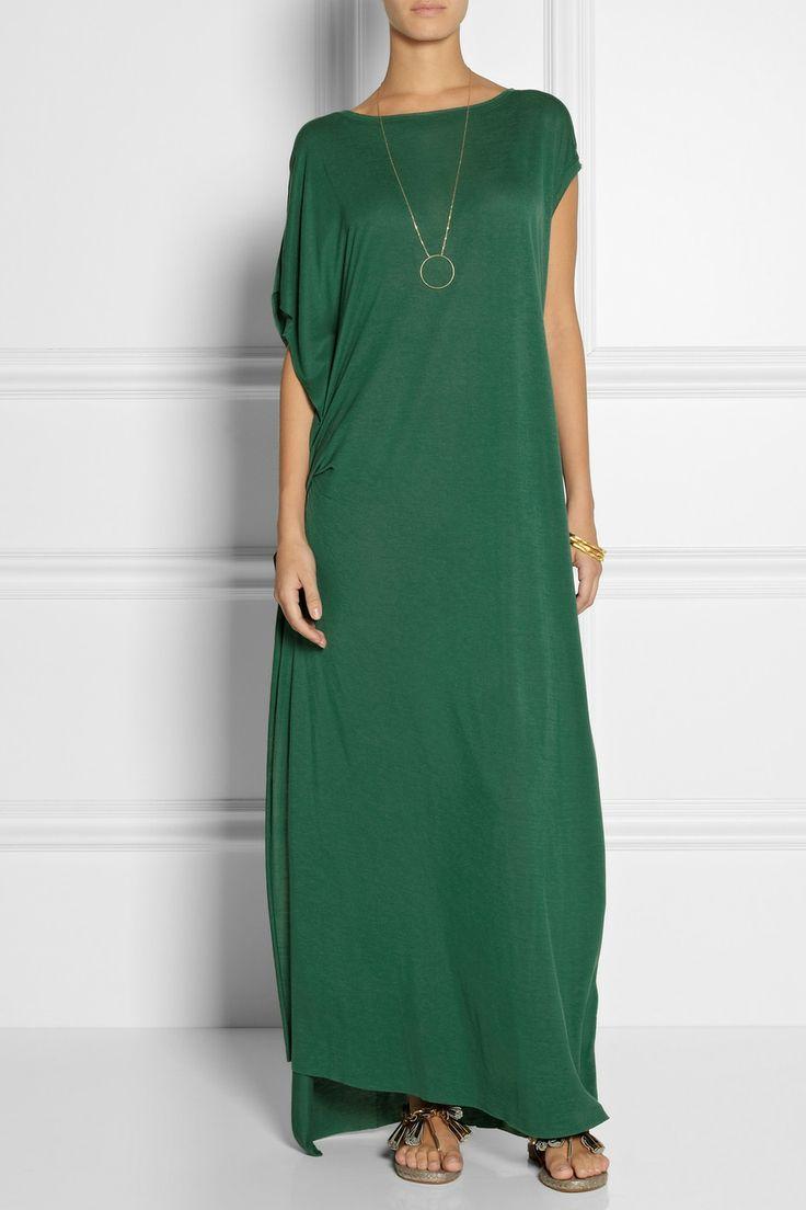 By Malene Birger|Nyta draped jersey maxi dress|NET-A-PORTER.COM