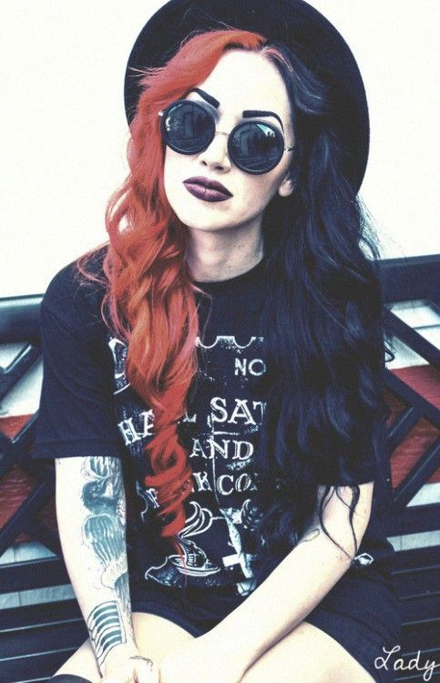 Ash Costello, New Years Day on We Heart It.