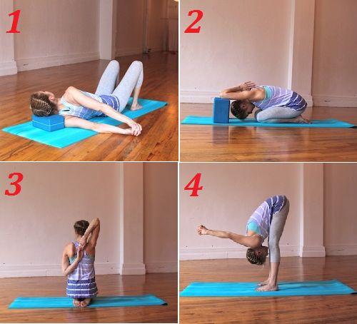 упражнения йоги при шейном остеохондрозе