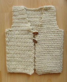 Borduurblog: Mouwloos vest
