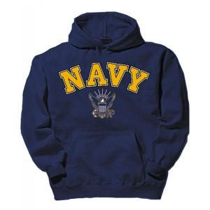 US NAVY SWEATSHIRT FEATURING NAVY EAGLE - SoldierCity