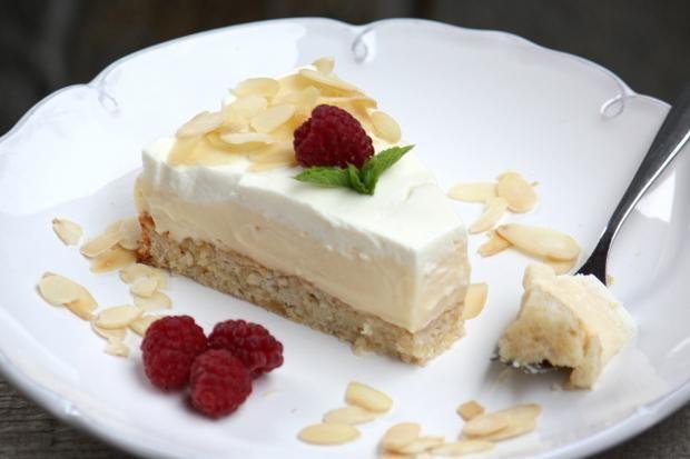 Mandľovo smotanová torta bez múky - recept
