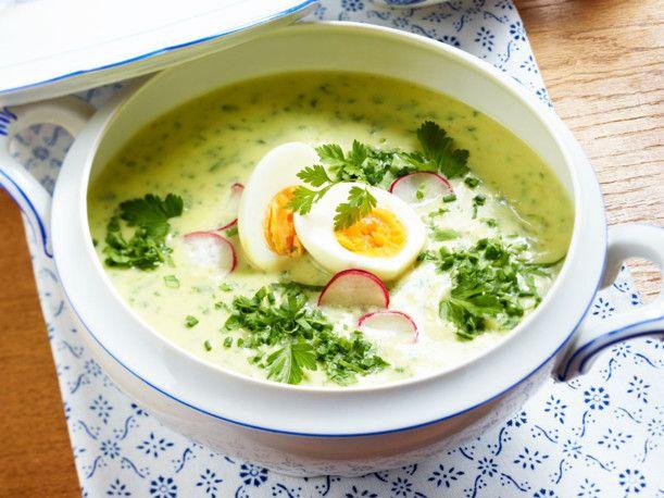Unser beliebtes Rezept für 5-Kräutersuppe mit Ei und mehr als 55.000 weitere kostenlose Rezepte auf LECKER.de.