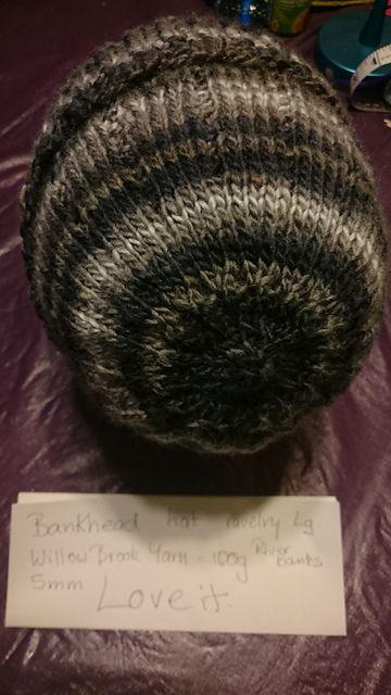 Ravelry: evelines' Bankhead Hat 1