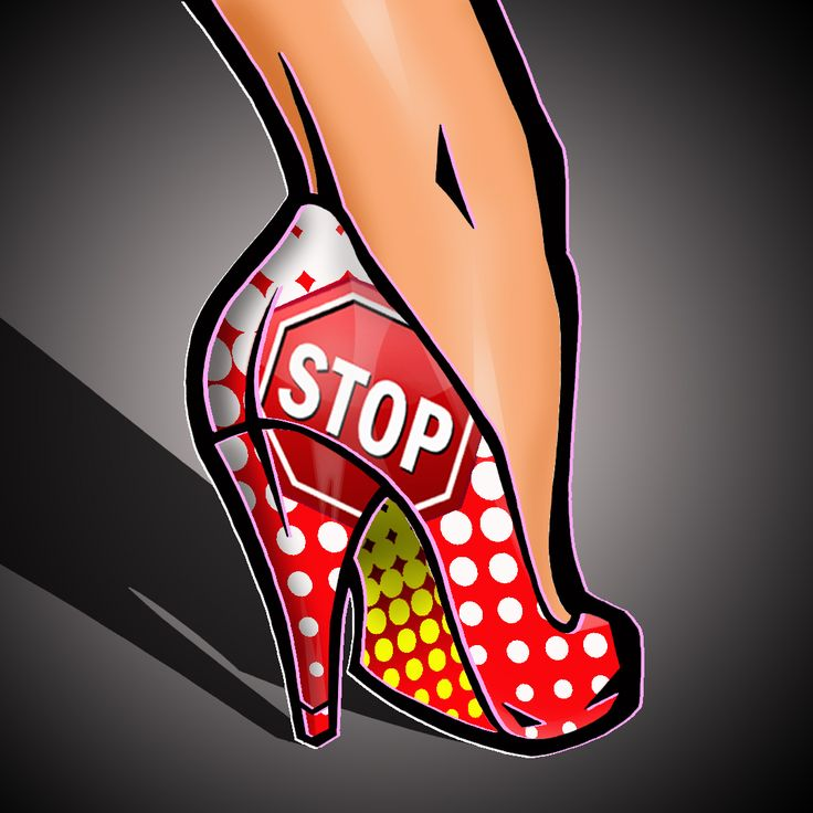 "50 Shades Of Heels - #31    ""Pop STOP""  (The STOP That Refreshes)    For More Erotic Art And Photos Go To:  http:www.eroticpo...    Follow Me On Tumblr At:  www.dixsteele.tum..."