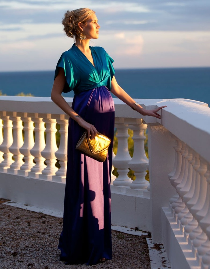 maternity evening dress
