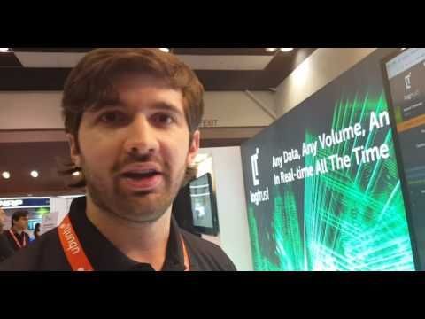 Buyzz Logtrust demo IoT Tech Expo, Santa Clara 2016