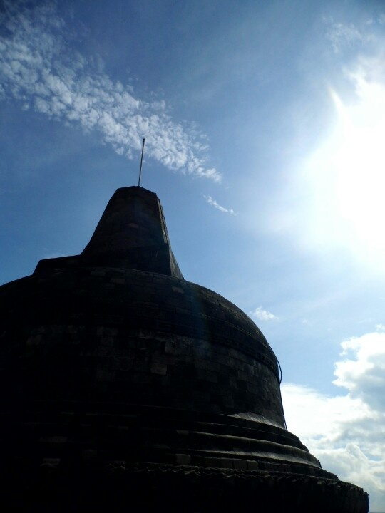 Mahadatu and Sun, Borobudur....