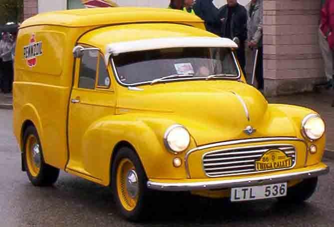 54b7486228 Morris Minor truck