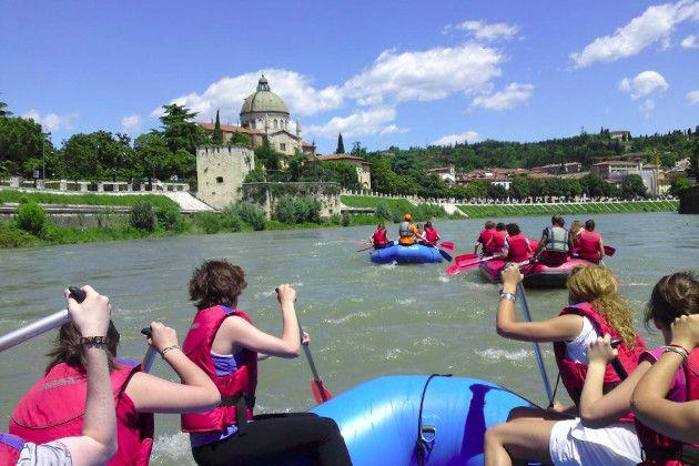 Adige Rafting - Entdeckungstour in Verona