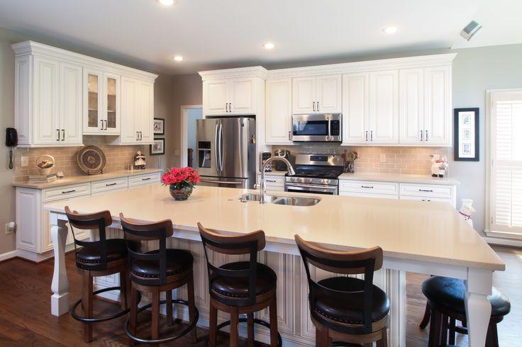 42 best ccff kitchen islands images on pinterest for Kitchen cabinet painting atlanta