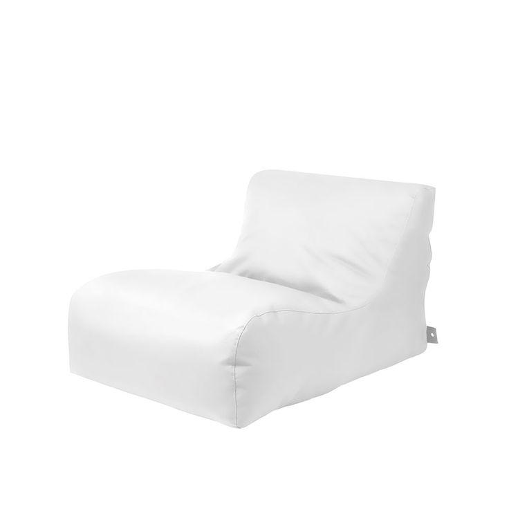 Outdoor Sitzsack Liege In Weiß Kunstleder Jetzt Bestellen Unter: ...