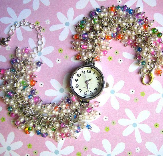 Confetti Beaded Watch