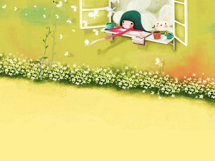 Dream of Echi - Echi Illustrations (Vol.02)   - Elegant Echi Girl - Beautiful Echi Illustration Wallpaper 16